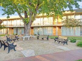 A picture of the hotel: Super 8 by Wyndham Meadow Wood Courtyard