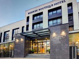 Hotel near Kirgizië