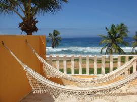 Hotel fotografie: Duplex na beira da praia, de frente pro mar