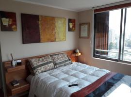 Hotel photo: Departamento en Bellavista, metro Bellas Artes