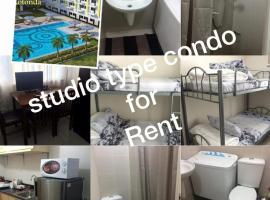होटल की एक तस्वीर: Studio flat in sun residences SMDC