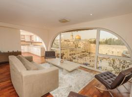 Hotel kuvat: The Western Wall Apartment