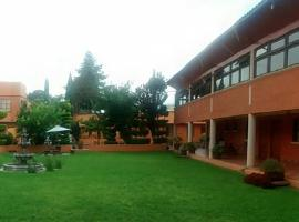 Hotel near Teotihuacán