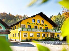 """ホテル写真: Gasthof """"zur Bahn"""""""