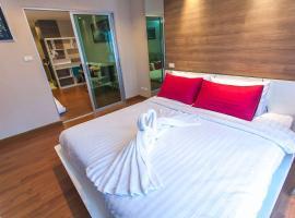 Hotel photo: Near MRT Phra Ram 9 Apartment