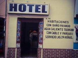 Hotel near Уэуэтенанго