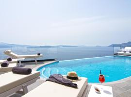 Hotel photo: Santorini Secret Suites & Spa, Small Luxury Hotels of the World