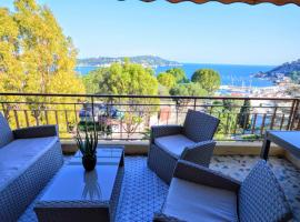 酒店照片: Villefranche center Bay & Port Sea view front