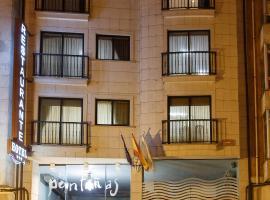 Hotel photo: Hotel Restaurante Pontiñas