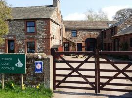Hotel photo: The Barn at Church Court Cottages - Your cosy countryside retreat !