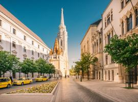 Hotel photo: GRAND BUDAPEST Premium Apartments by Zsidai Hotels at Buda Castle