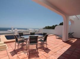 Hotel photo: Casa moderna en Calpe con las vistas espectaculares a 800 m de la playa