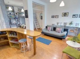 Фотографія готелю: Lad apartment in New Buda