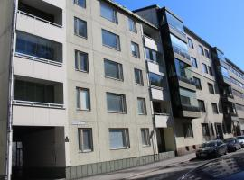 Hotel foto: Spacious three-bedroom apartment for six in the city center of Lahti.