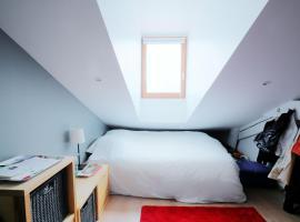 Hotel photo: Charmant appartement sous toit vue sur Rhône