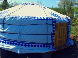 Hotel photo: Romantic Mongolian yurt in the Wild