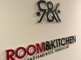 Hotel Photo: Room and Kitchen Bilbao