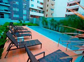 Hotelfotos: Upper pool Apartment in Pardo, Miraflores.