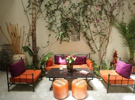 A picture of the hotel: Riad White Flowers