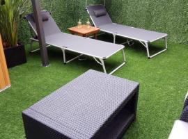 Hotel photo: apartment garden