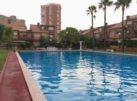 Hotel photo: Apartamento familiar Cabo Huertas (Playa San Juan)