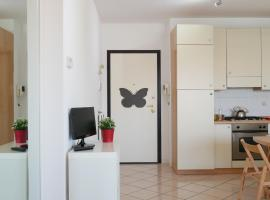 Hotel Foto: White butterfly house
