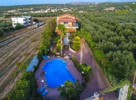 Zdjęcie hotelu: Luxury 3 Bedroom Villa Manos
