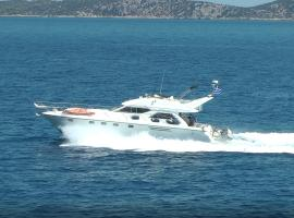 Foto di Hotel: Motor boat in Alimos marina