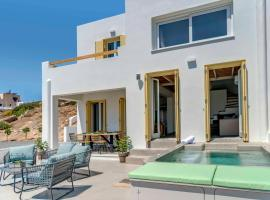 מלון צילום: Villa Alba in Syros with private Jacuzzi