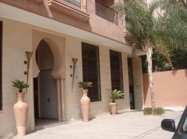 Hotel fotografie: Très bel appart T3 piscine / Marrakech / centre ville