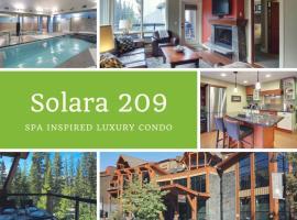 Hotel photo: Canmore Solara Resort by Rockies Rentals