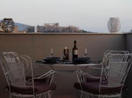 Hotel photo: Luxury Penthouse with Acropolis view