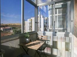 酒店照片: Charming 1 bedroom apartment at Costa da Caparica