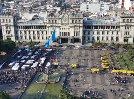 Hotel photo: Amazing view towards Guatemalan Presidential House