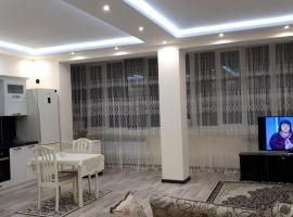 A picture of the hotel: Apartment on Abubakarova 18
