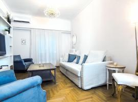 A picture of the hotel: Charming 2 bedroom apartment next to Piraeus port