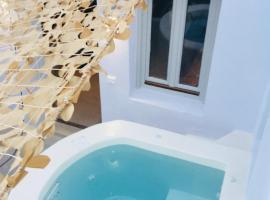 Hotel photo: The Muse of Santorini Private Jaccuzzi Suite