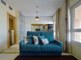 Hotel photo: Moderno apartamento frente a la playa y el centro