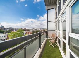 酒店照片: 2 Bed Battersea Apartment With View