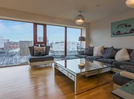 Hotel photo: Stylish two bed penthouse in Glasgow city centre