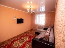 Hotel fotoğraf: Apartment on Tashenova 111