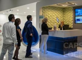 酒店照片: Capslock Capsule Hotel