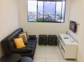 รูปภาพของโรงแรม: Apto em Jaraguá - 3/4 com wi-fi