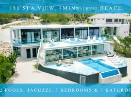 ホテル写真: Exclusive private villa in resort, 180 °sea view