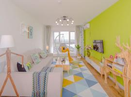 Hotel photo: Qingdao Licang·Qingdao Bay Bridge· Locals Apartment 00117220