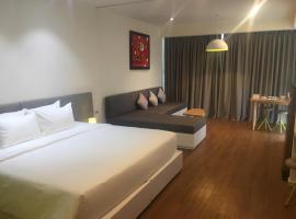 Ξενοδοχείο φωτογραφία: Ocean-view studio, 21st floor, Nha Trang, Vietnam