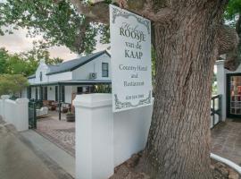 Hotel photo: Hotel Roosje van de Kaap