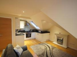 Фотография гостиницы: Modern, Cosy Apartment In Bearsden with Private Parking