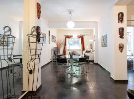 Hotel photo: Bright Contemporary Studio in Pagrati