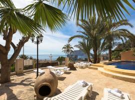 Hotel photo: Benissa Villa Sleeps 12 Pool WiFi